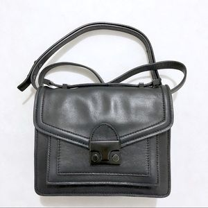 EUC Loeffler Randall Black Mini Rider Bag